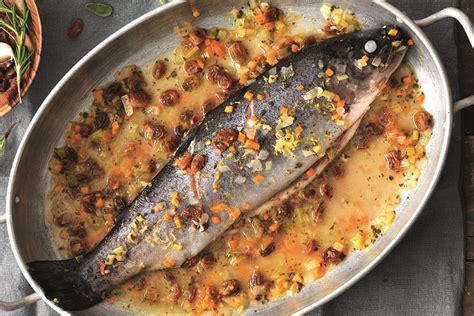 cucinare trote ricetta trota alla piemontese la cucina italiana