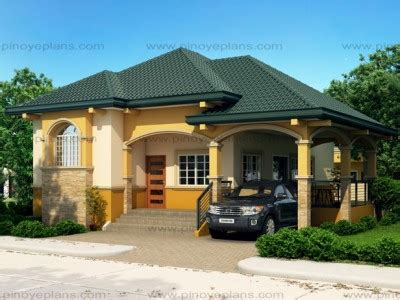 alexa simple bungalow house pinoy eplans modern