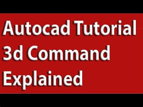 autocad walkthrough tutorial full download autocad 3d tutorial for beginners