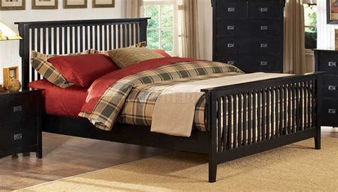 distressed black bedroom furniture distressed black finish traditional bedroom w optional items