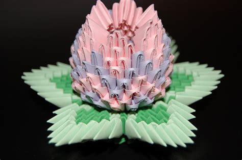 3d Origami Lotus Flower - 3d origami lotus flower odyssey of the mind