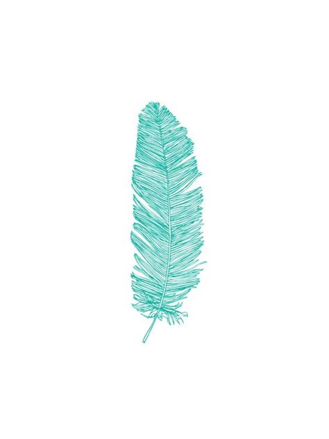 three feathers in blush teal feathers turquoise and teal blue on pinterest