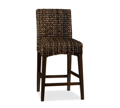 Seagrass Stool seagrass barstool pottery barn