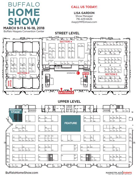 floor plan exhibitor rates contract for the buffalo
