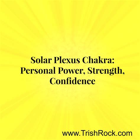 7 Ways To Boost Power by 7 Ways To Increase The Power Of Your Solar Plexus Chakra