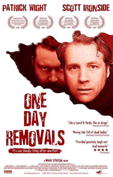 one day film production company scottish comedy one day removals at 24th edmonton