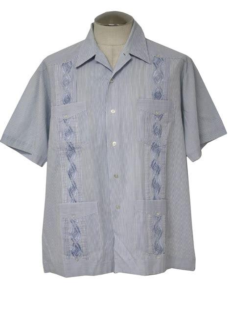 Wholesale Home Decor Items Vintage Guayabera 1980s Guayabera Shirt 80s Guayabera