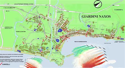 mappa giardini naxos frecce tricolore 187 comune di giardini naxos