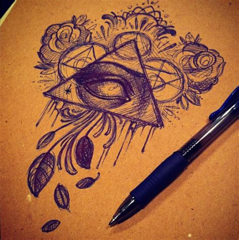 unique tattoo designs tumblr drawing on