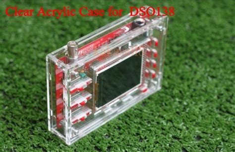 Casing Dso138 Oscilloscope Digital Box Acrylic Acrillic transparent acrylic box shell for dso138 2 4 quot tft