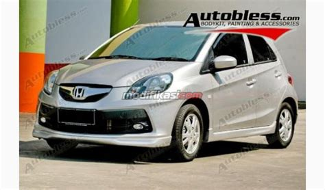 Bodykit Plastic Add On Honda Brio Zercon Baru paket set bodykit honda brio modulo plastic abs grade b