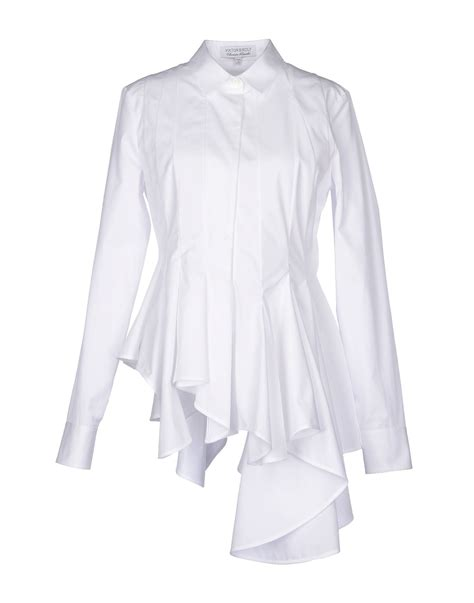 White Shirt Lyst by Lyst Viktor Rolf Shirt In White