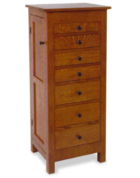 Amish 48 Quot Flush Mission Jewelry Armoire Amish Bedroom