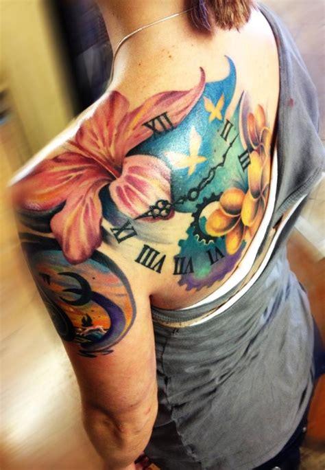 tattoo name combination flores rel 243 gio bra 231 o costas tatuagens femininas