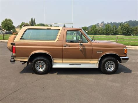 how does cars work 1990 ford bronco free book repair manuals 1990 ford bronco xlt 4x4 eddie bauer edition 5 8 v8 automatic 68k 100 rust free