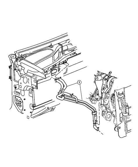 2002 Jeep Liberty Heater 2002 Jeep Liberty Plumbing Heater 3 7l Engine Lhd