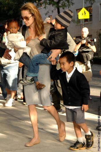 Brangelina Happily Welcomes Vivienne Marcheline by Brad Pitt S Babies Debut Page Six