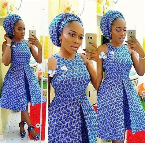 ankara african dress with lace nigerian lace short gown styles howdy ladies lace
