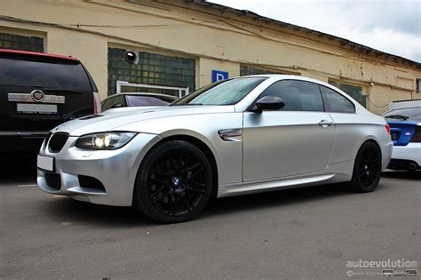 matte bmw bmw m3 matte chrome wrap autoevolution