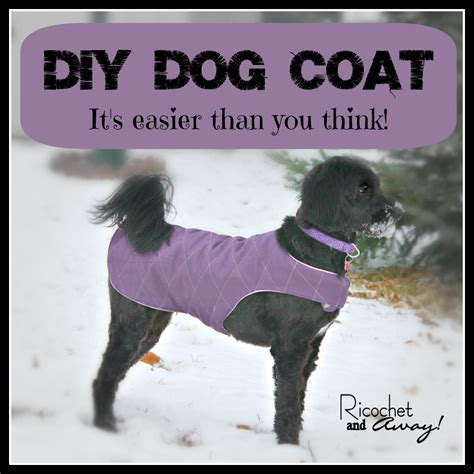 pattern for quilted dog coat ricochet and away diy dog coat