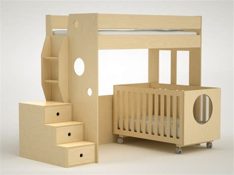 Bunk Bed With Crib Dumbo Bunk Bed Crib Dem Babies Pinterest
