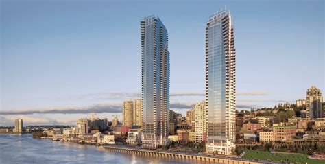 pier west pier west brings tallest towers yet to new westminster s