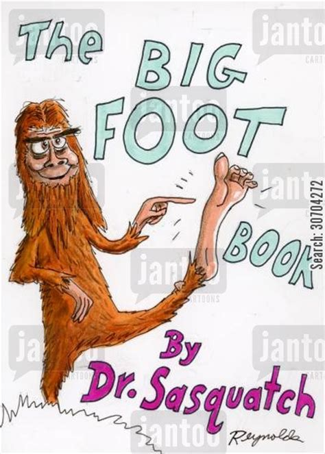 the foot book big 0553536303 the big foot book jantoo cartoons