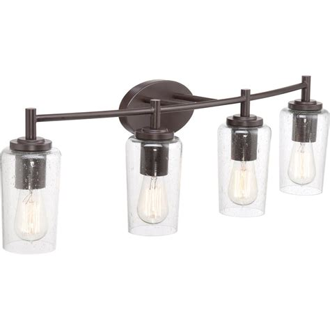 brown bathroom fixtures quoizel eds8604wt edison with western bronze finish bath fixture and 4 lights brown amazon com