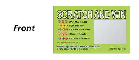 scratch card template scratch cards ivory graphics personalised cards