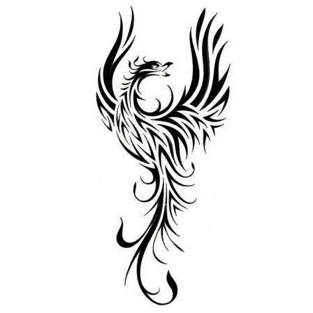 tribal pheonix tattoo 15 beautiful tribal tattoos only tribal