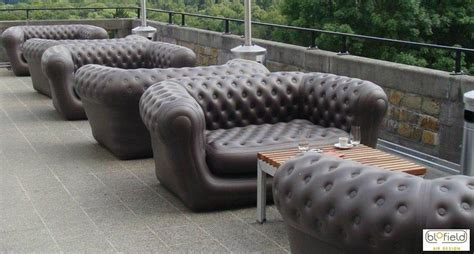 inflatable outdoor sofas perfect  backyard fun