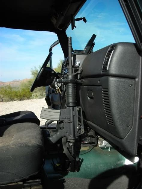 Gun Rack For Jeep Wrangler by Image Detail For Jeep Rifle Rack Mount Ar15