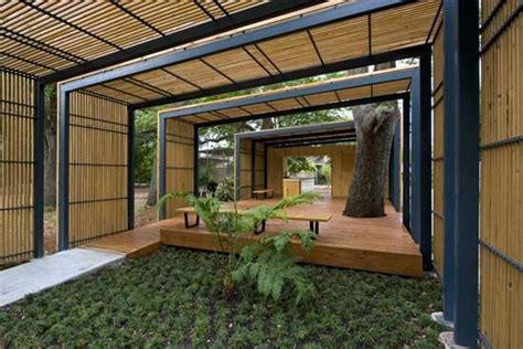moderne pavillons modern park pavilion backgrounds wallpaper la pavilion
