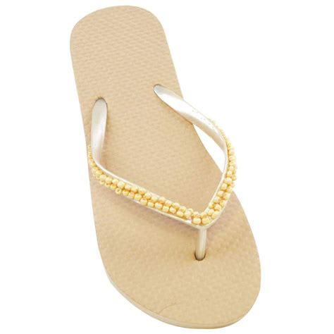 beaded flip flop sandals womens summer beaded toe post flip