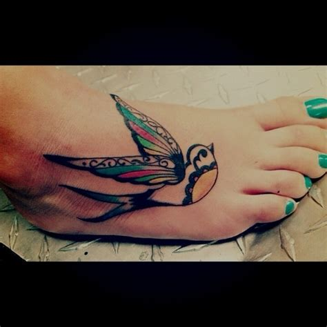 unique foot tattoos 100 awesome tattoos