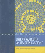 Linear Algebra And Its Applications 5e Lay 9780321982384 linear algebra and its applications david c lay