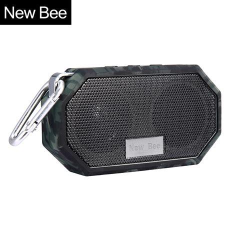 Speaker Mini Subwoofer new bee waterproof wireless bluetooth speaker mini subwoofer shower portable speakers free