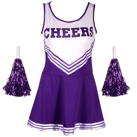 Fancy Dress 2 by High School Cheering Glee Dress Purple