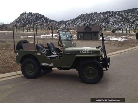 1948 Jeep Willys 1948 Jeep Willys Cj2a