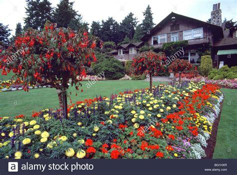 Stanley Park Pavilion Vancouver Bc British Columbia Garden Flowers Vancouver