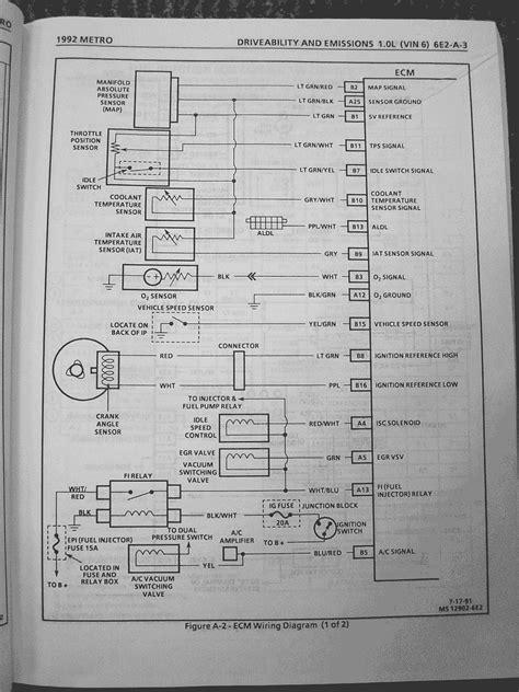 chevy prizm wiring diagram 1997 geo metro get free image