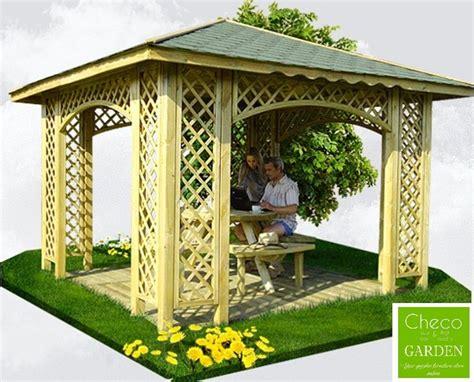 pavillon 3m 3m x 3m ex 3 5m x 3 5m garden wooden arched pavilion