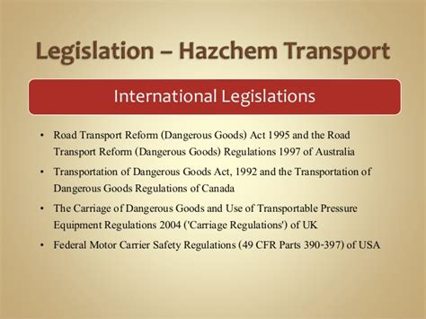 49 cfr section 390 5 statutory regulations related to hazardous chemical