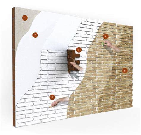 vernice per muro interno realizzare un muro in finti mattoni