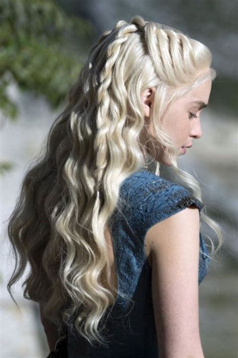 daenerys style hair khaleesi s best game of thrones hair moments game of