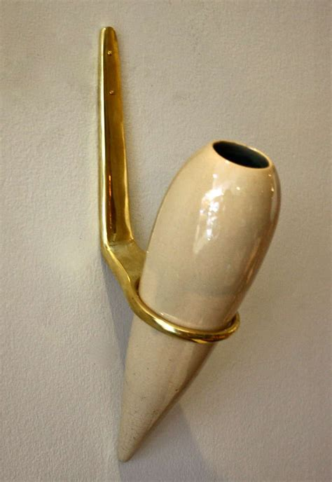 Wall Mount Vase by Wonderful Wall Mounted Vase By Conrad Siedler And Carl