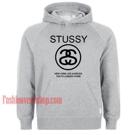 Hoodie Stussy Los Angelessmlxl stussy world tour logo hoodie unisex clothing