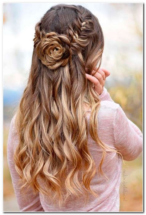 down hairstyles for ball half up half down ball hairstyles new hairstyle designs