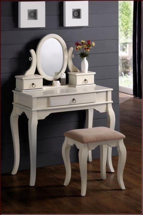 Cermin Meja desain meja rias putih minimalis cermin oval rumah diy