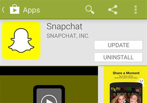 snapchat for android how to update snapchat pc advisor